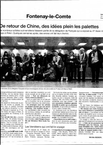 article Ouest France 16.03.2013