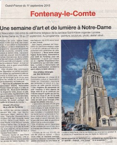 Ouest France 11 09 2015
